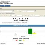 Status Time Analysis screenshot
